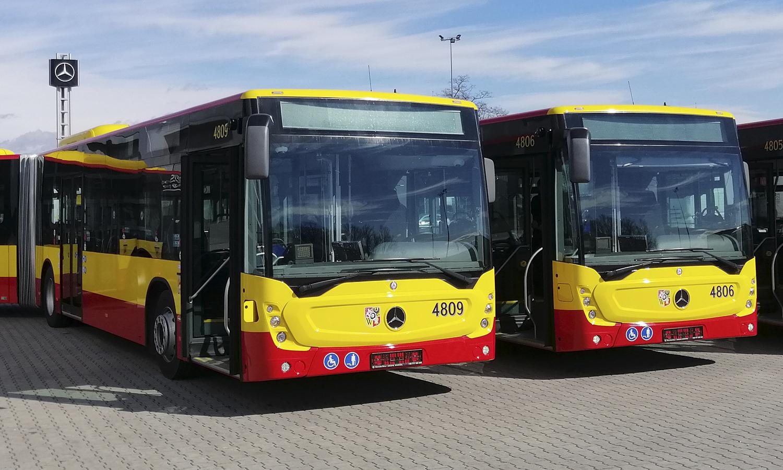 Nowe autobusy od Mobilis na ulicach Wrocławia